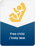 free baby seat banner - IDEAL LADY BIKE