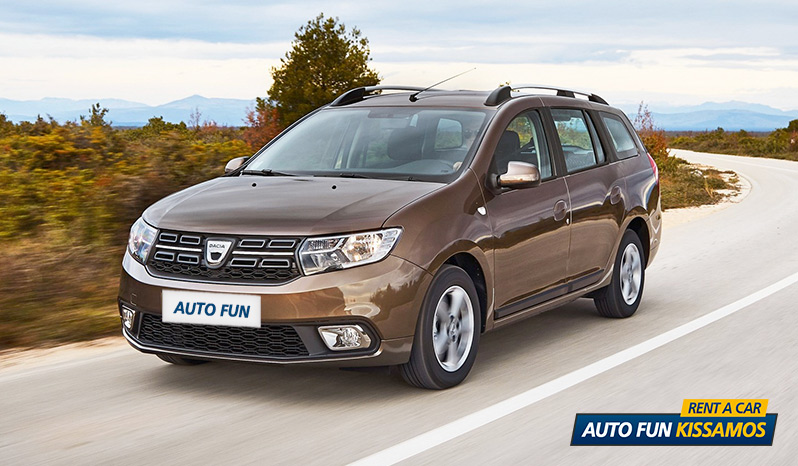 Rent DACIA LOGAN MCV in Crete