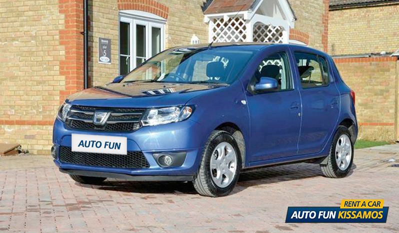 Rent DACIA SANDERO in Crete