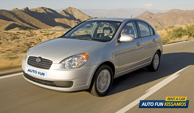 Rent HYUNDAI ACCENT 1400 CC in Crete
