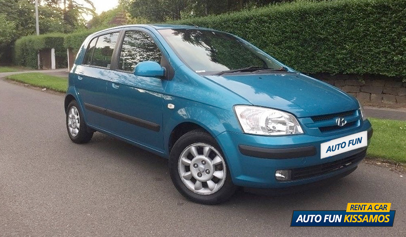 Rent HYUNDAI GETZ 1200 CC in Crete
