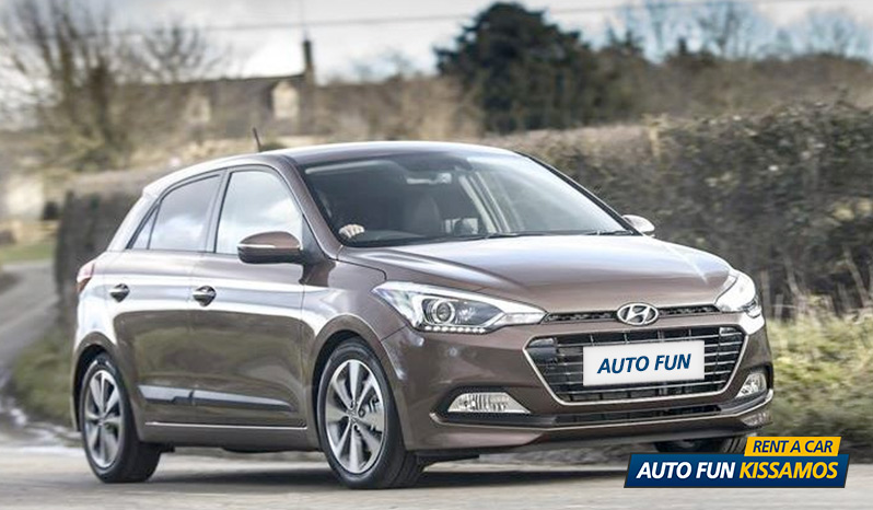 Rent HYUNDAI i20 1200 CC – Petrol in Crete