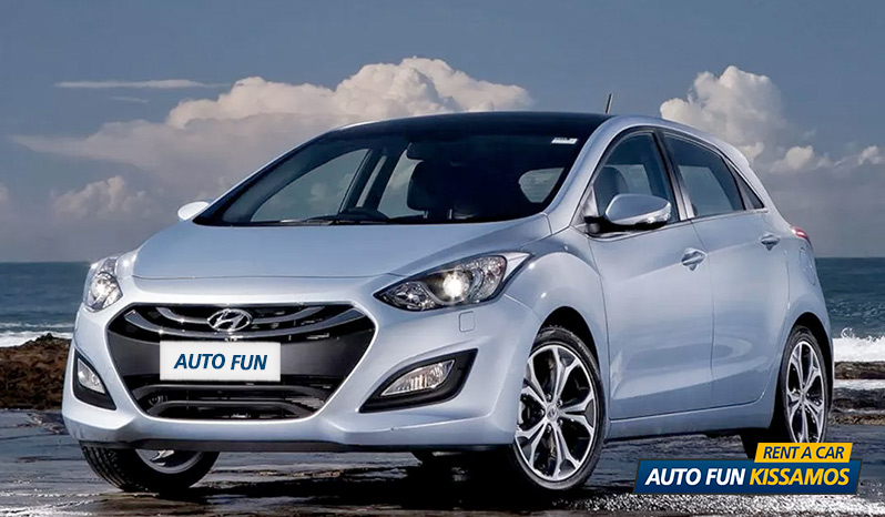 Rent HYUNDAI i30 1400 CC in Crete