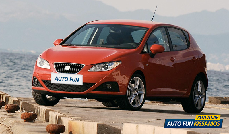 Rent SEAT IBIZA 1400 CC in Crete