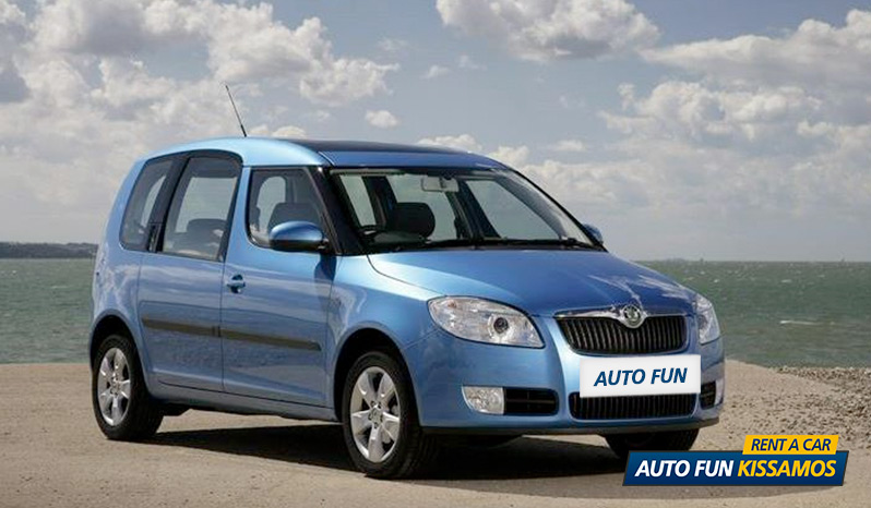 Rent SKODA ROOMSTER 1400 CC in Crete