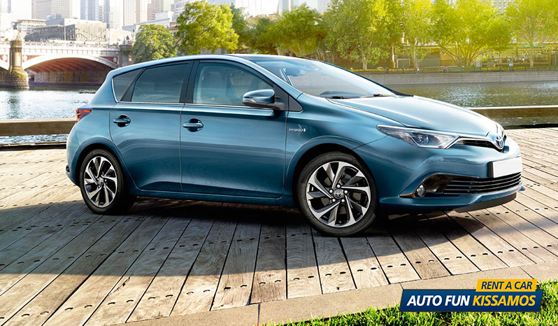 Rent TOYOTA AURIS 1300 CC in Crete