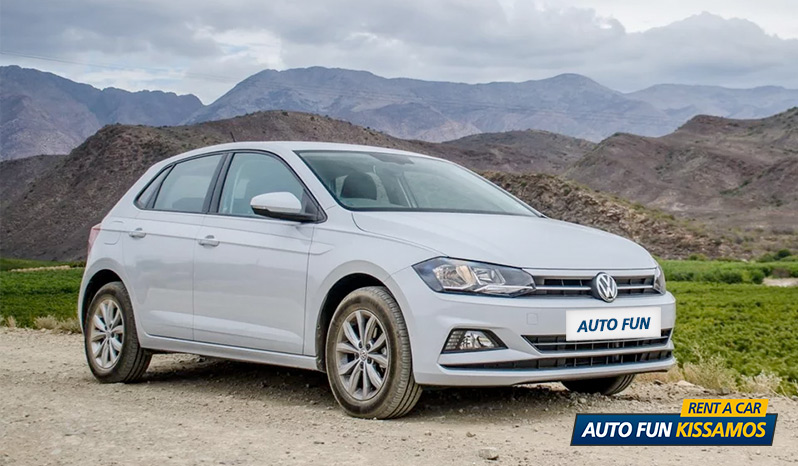 Rent VOLKSWAGEN POLO 1200 CC in Crete
