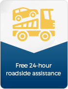 roadside assistance banner - Rent PEUGEOT 206 1400 CC in Crete