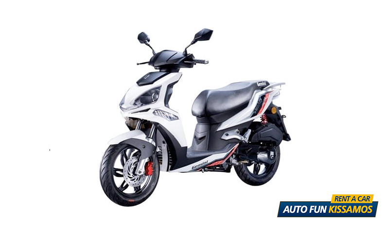 SCOOTER DERBI 125 CC – WHITE