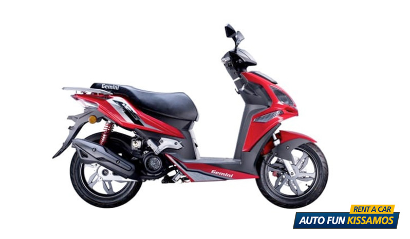 SCOOTER DERBI 125 CC